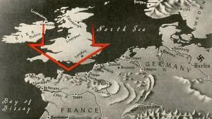 1944 Europe map