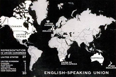 English-Speaking Union map