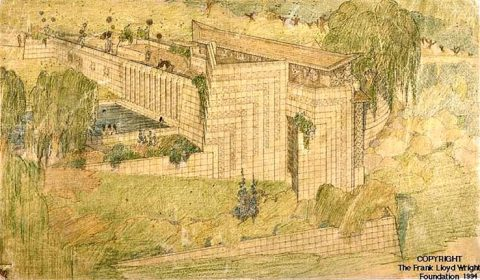 Frank Lloyd Wright Doheny Ranch Development