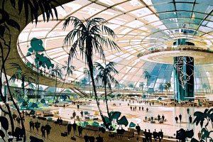Pereira and Luckman LAX Terminal design