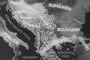 1941 Balkans map