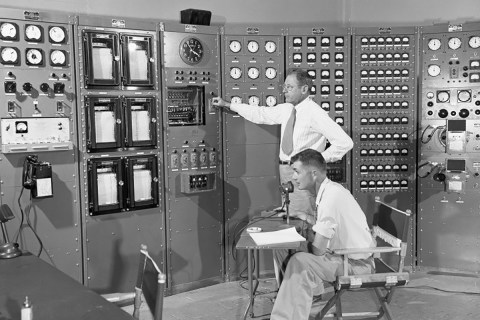 1952 nuclear weapons test control room