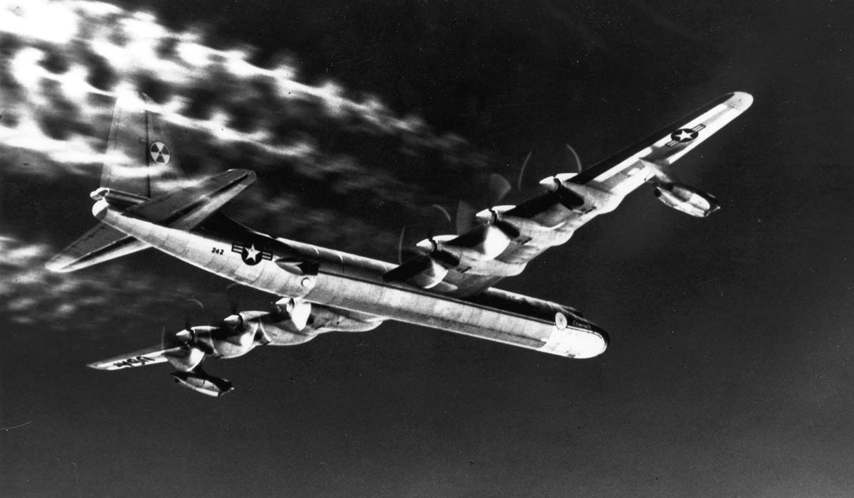 Convair B-36 Peacemaker bomber