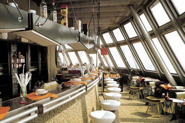 Ještěd Tower Czech Republic bar