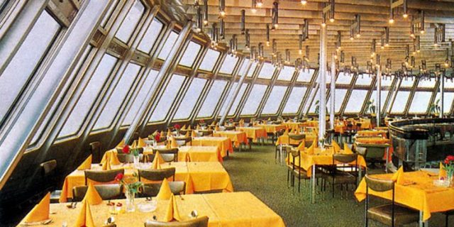 Ještěd Tower Czech Republic restaurant