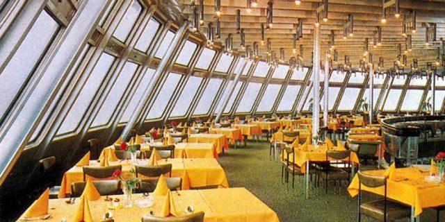 Ještěd Tower Czech Republic restaurant