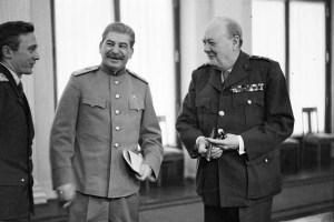 Joseph Stalin Winston Churchill