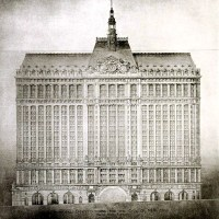 Manhattan Municipal Building by Heins and La Farge