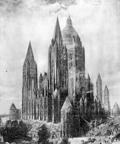 New York Cathedral of Saint John the Divine by William Wood