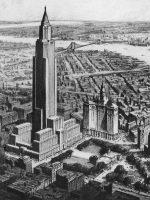 New York Civic Center design