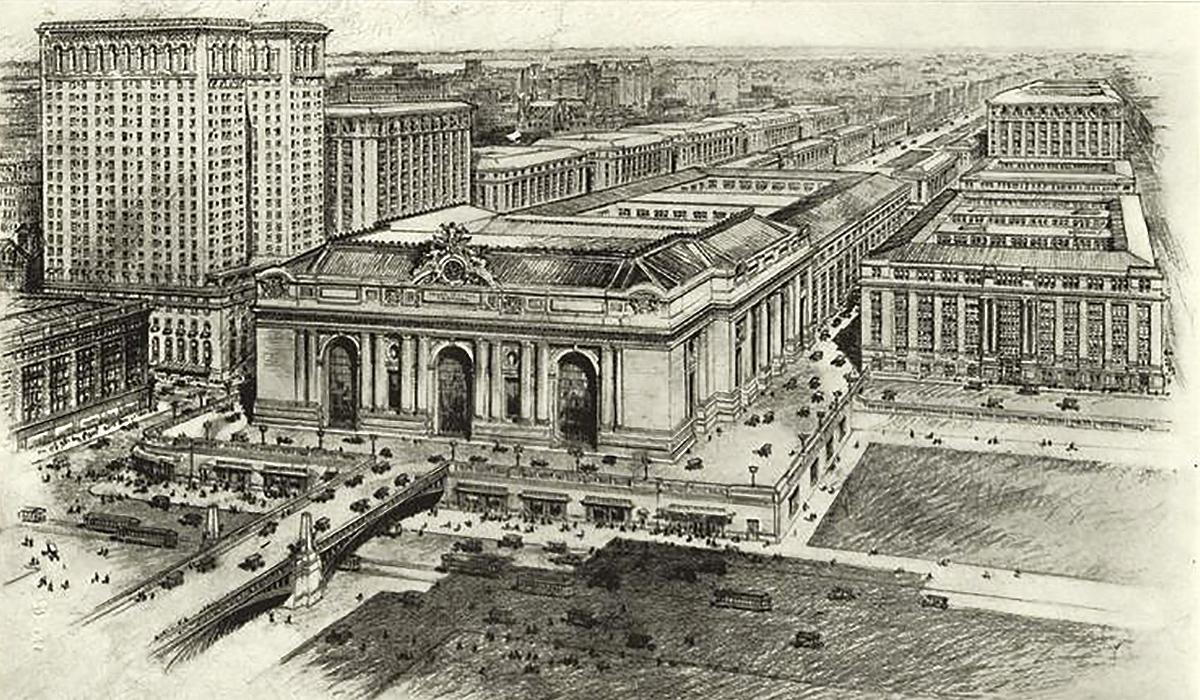 New York Terminal City design
