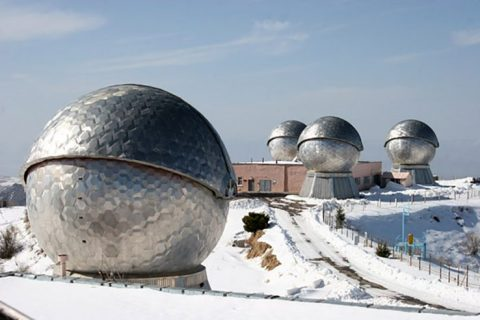 Russian telescopes Tajikistan