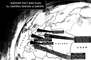 Warsaw Pact invasion of Europe map