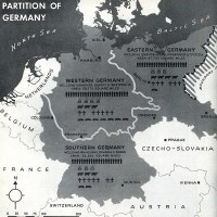 1944 Germany partition map