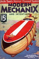 Modern Mechanix October 1934 cover
