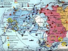 Spanish Cold War map