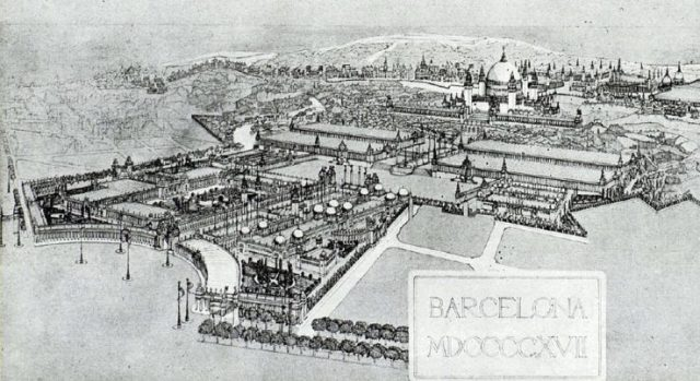 1929 Barcelona International Exhibition design