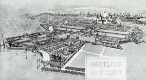 1929 Barcelona International Exhibition design