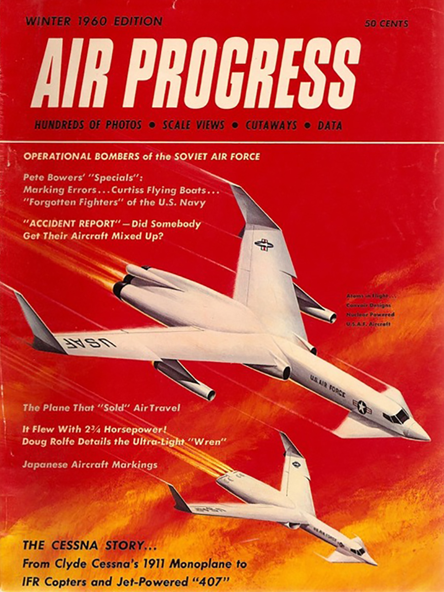 Air Progress Winter 1960 cover