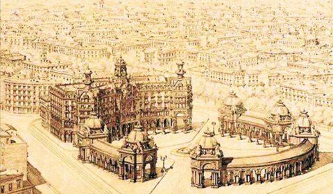 Barcelona Plaça de Catalunya design