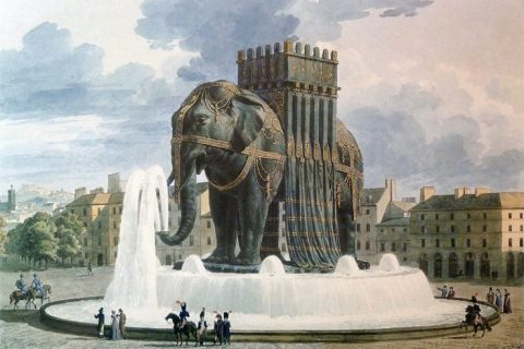 Elephant of the Bastille Paris