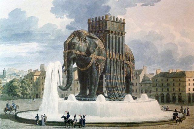Elephant of the Bastille Paris