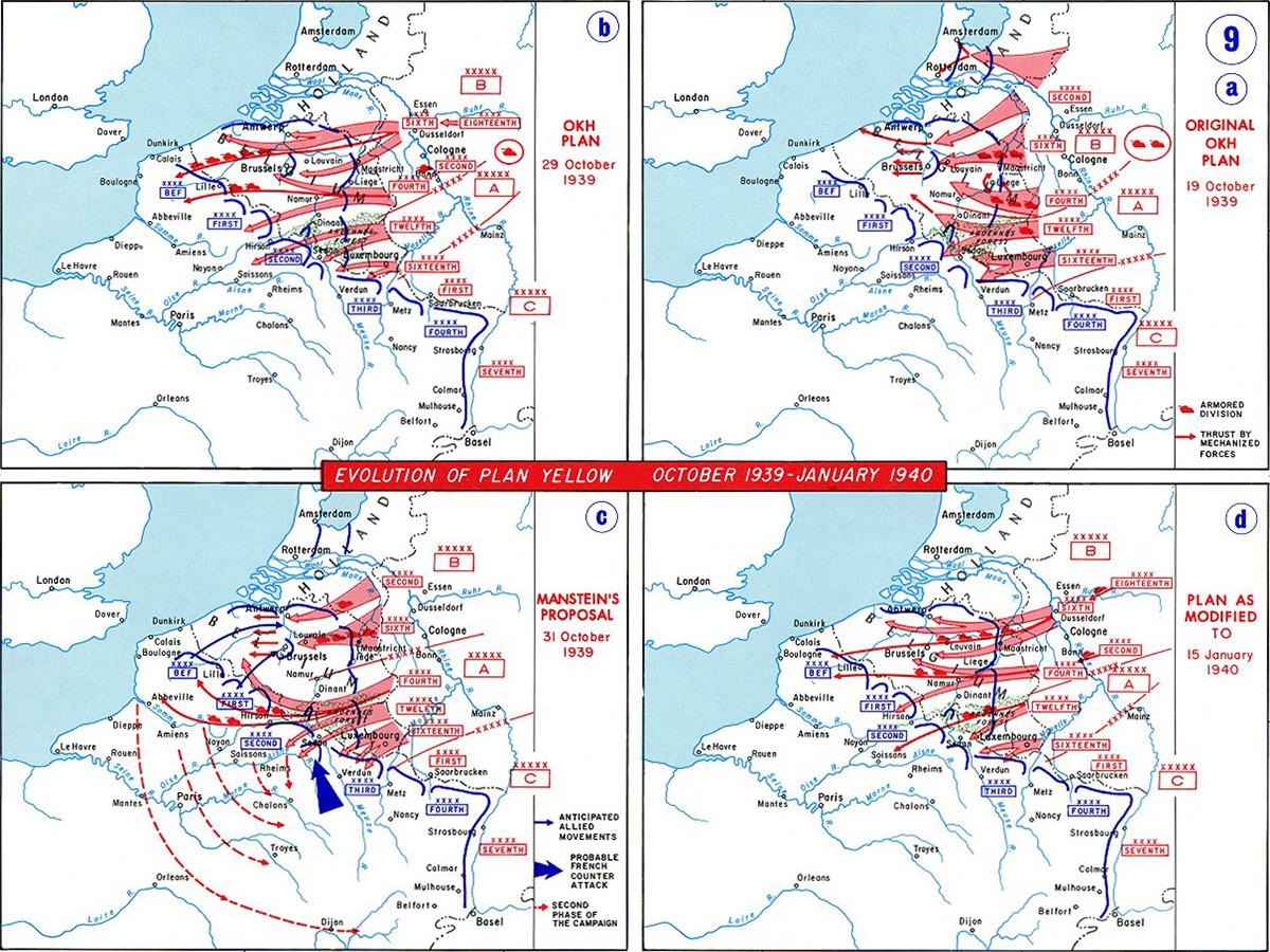 German Case Yellow map