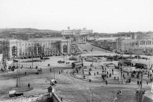 National Palace Barcelona construction