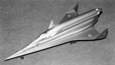 Soviet spaceplane model