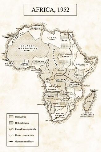 The Afrika Reich map