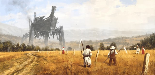 Jakub Rozalski artwork