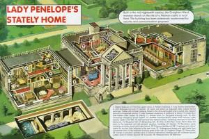 Thunderbirds Lady Penelope home cutaway