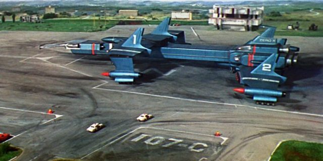 Thunderbirds scene