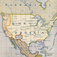 1916 North America map