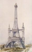 Eiffel Tower Paris France design