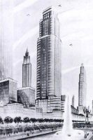 New York Future Tower City design