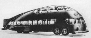 Norman Bel Geddes bus design