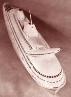 Norman Bel Geddes ocean liner design