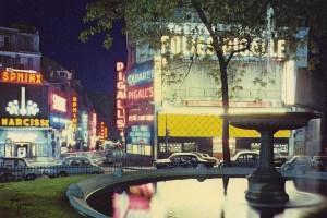Place Pigalle Paris France