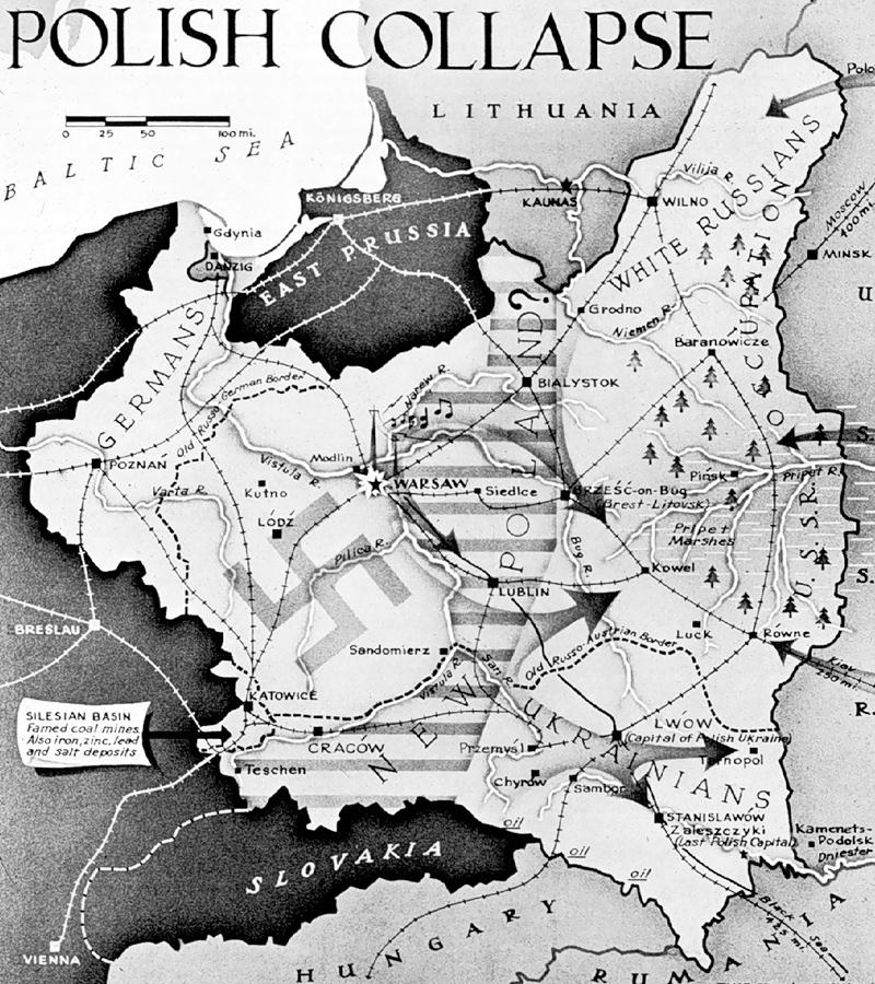 1939 Poland map