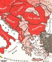 1942 Balkans map