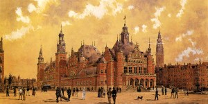 Amsterdam commodity exchange design
