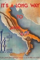 Italy propaganda map