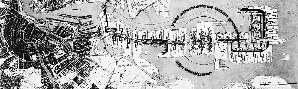 Plan Pampus Amsterdam map