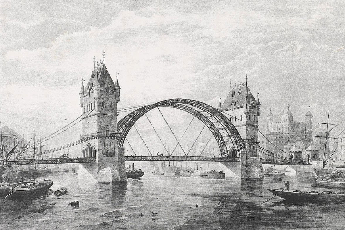 Tower Bridge London England design