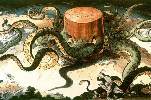1904 Standard Oil octopus cartoon