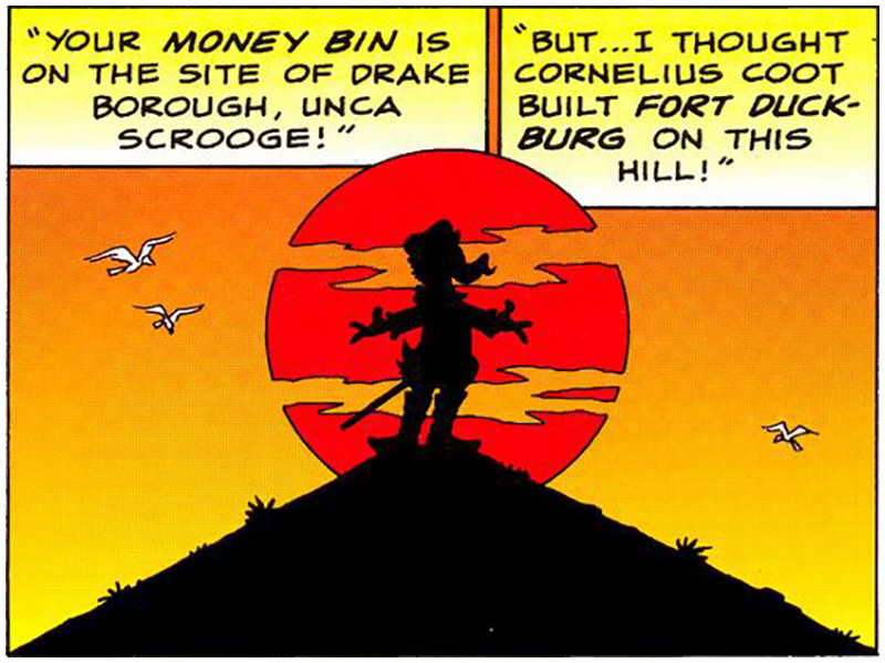 His Majesty, McDuck panel