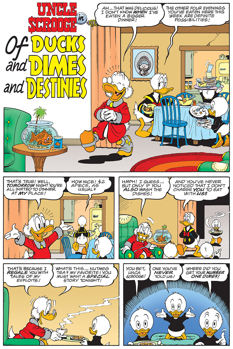 Of Ducks, Dimes and Destinies page