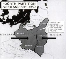 Poland 1939 map
