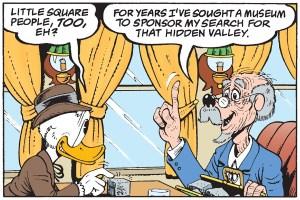 The Buckaroo of the Badlands panel